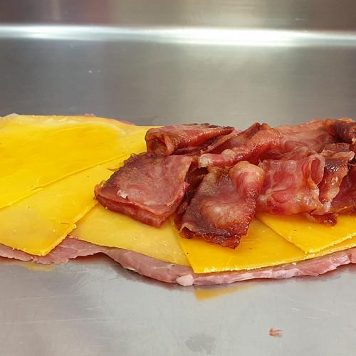 Cachopo Queso Cheddar y Bacon