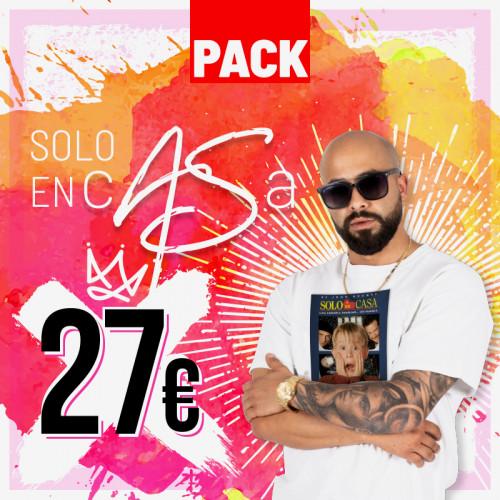PACK 'Sólo en c@Sa' (27,00 €/pack)