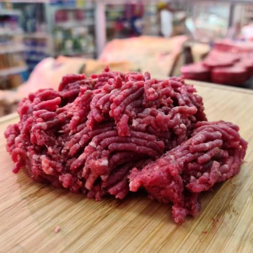 Carne picada de vaca (10 €/kg)