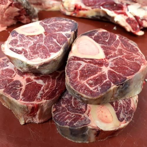 Osobuco de vaca (10 €/kg)
