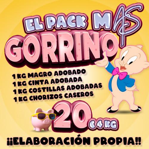 El Pack M@S Gorrino (20,00...